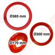 Anello in resina per volanetto Ø 170 / 300 / 385 mm - Monofilo Pellegrini