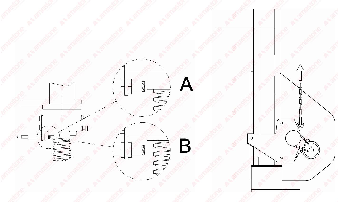 Chiocciola Per Monofilo Pellegrini Df2000