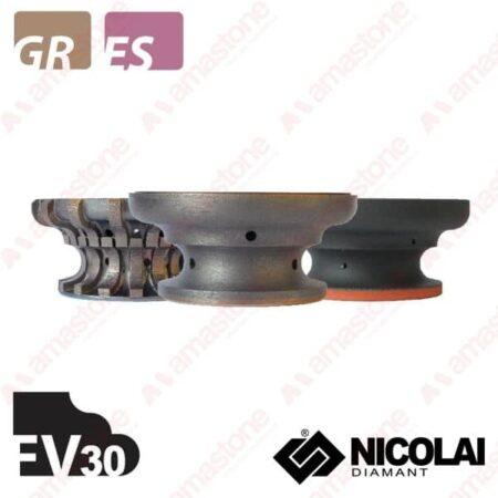 Nicolai - Mola da profilo 60 - Forma FV30