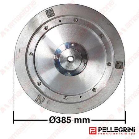 Pellegrini - Volanetto in alluminio Ø 170 / 385 mm per monofilo