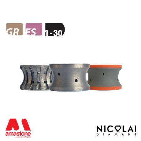Mola da profilo 60 - Forma 1-30 - Nicolai