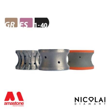 Mola da profilo 60 - Forma 1-40 - Nicolai