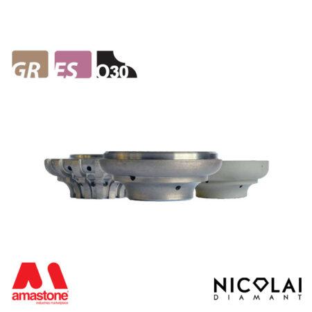 Mola da profilo 60 - Forma O30 - Nicolai
