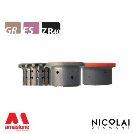 Mola da profilo 60 - Forma ZR40 R6 - Nicolai