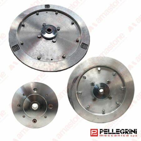 Pellegrini - Volanetto in alluminio Ø 170/300/385 mm per monofilo