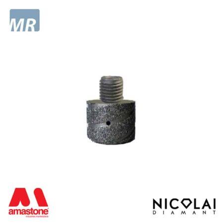 Testa elettrodeposta intercambiabile - Nicolai