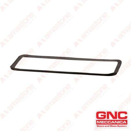GNC - Guarnizione Labbro in gomma EPDM per ventosa rettangolare