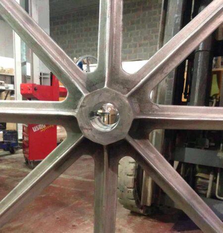Pellegrini - Volano in alluminio 2000 mm per monofilo - Volano motrice (1)