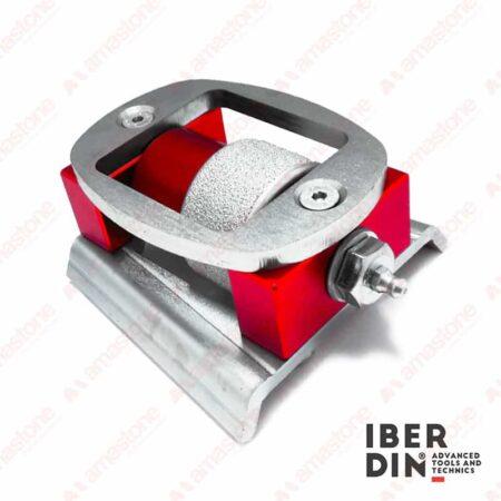 Iberdin - Rullo per sabbiatura singolo - Attacco Frankfurt