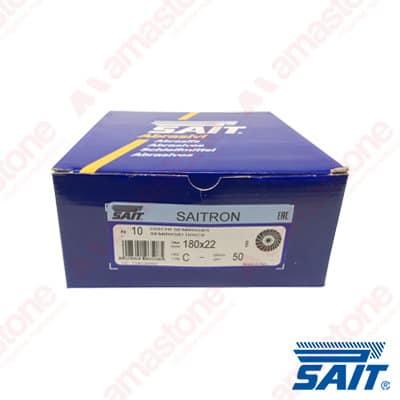 Disco abrasivo semirigido su fibra Saitron 115/180 - SAIT Abrasivi