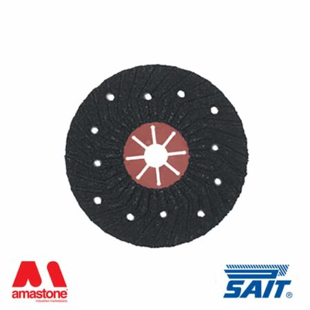 Disco abrasivo semirigido Saitron 115/180 – SAIT ABRASIVI