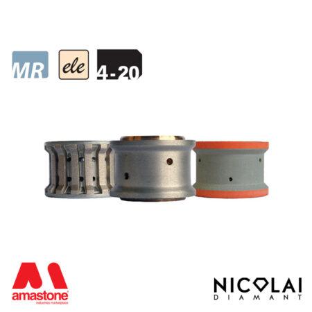 Mola da profilo elettrodeposta 60 - Forma 4-20 - Nicolai