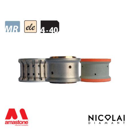Mola da profilo elettrodeposta 60 - Forma 4-40 - Nicolai