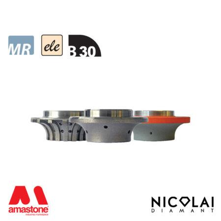 Mola da profilo elettrodeposta 60 - Forma B30 - Nicolai