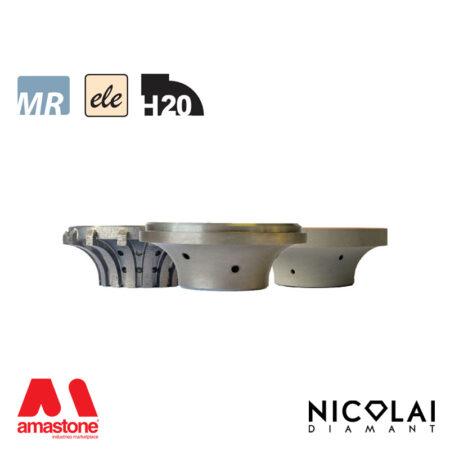Mola da profilo elettrodeposta 60 - Forma H20 - Nicolai