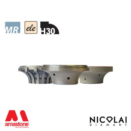 Mola da profilo elettrodeposta 60 - Forma H30 - Nicolai