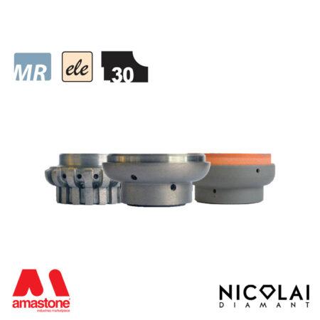 Mola da profilo elettrodeposta 60 - Forma L30 - Nicolai