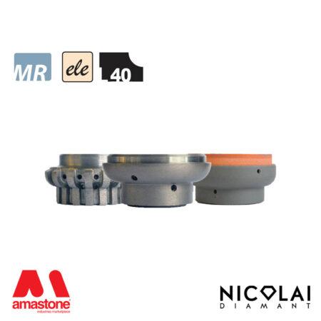 Mola da profilo elettrodeposta 60 - Forma L40 - Nicolai