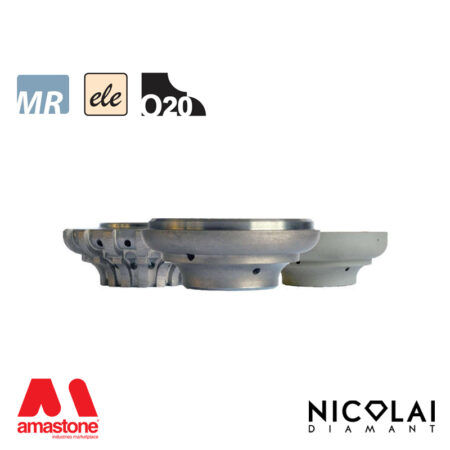 Mola da profilo elettrodeposta 60 - Forma O20 - Nicolai