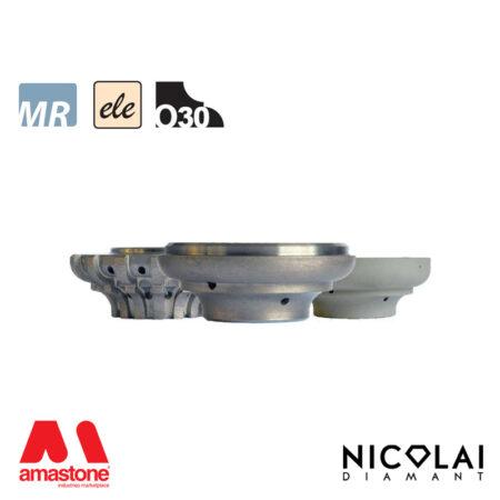 Mola da profilo elettrodeposta 60 - Forma O30 - Nicolai