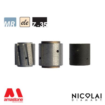 Mola da profilo elettrodeposta 60 - Forma Z h35 - Nicolai