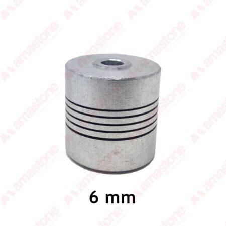 Giunto Flessibile in Alluminio da 6 mm