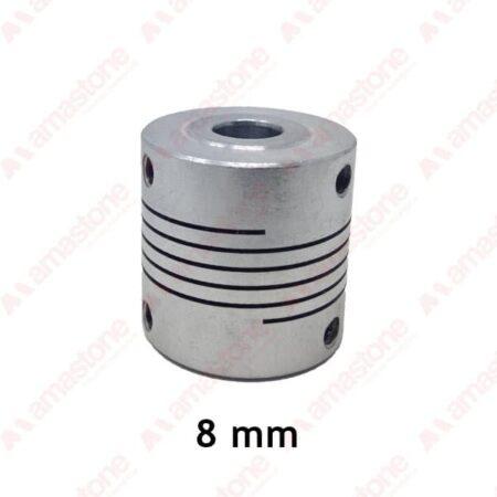 Giunto Flessibile in Alluminio da 8 mm