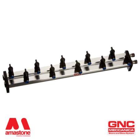 Ripartitore / distributore vuoto in alluminio - GNC