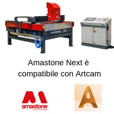 Amastone Next È Compatibile Con Artcam