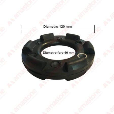 Giunto elastico di accoppiamento per manettone Mordenti - Diametro 120 mm