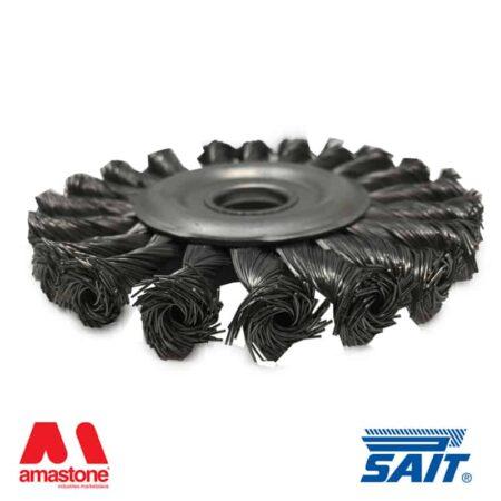 Spazzola metallica rimozione ruggine SM-CR – SAIT ABRASIVI