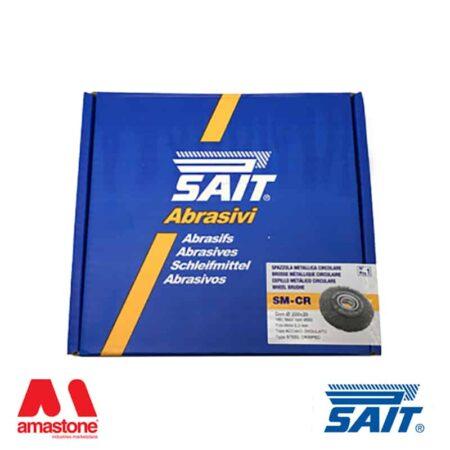 Spazzola metallica rimozione sbavature SM-CR – SAIT ABRASIVI