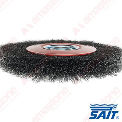 Spazzola circolare metallica SM-CR - Sait Abrasivi