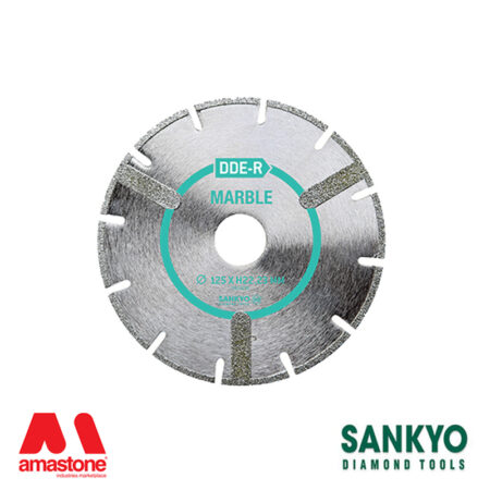 Disco da taglio elettrodeposto per marmo e vetroresina - Sankyo DDE