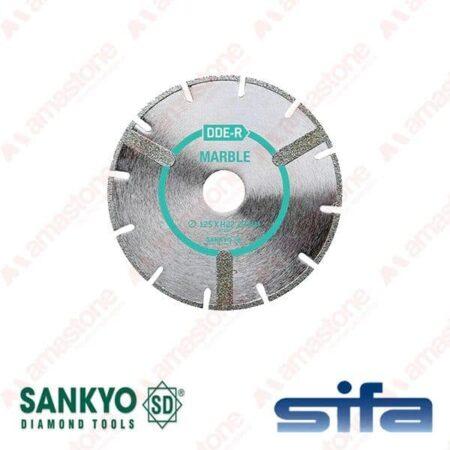 Disco da taglio elettrodeposto per marmo e vetroresina - Sankyo DDE-R
