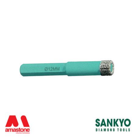 Foretto diamantato per avvitatori e trapani - Sankyo ST-DC (attacco esagonale)