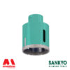 Foretto diamantato per smerigliatrice o trapano - Sankyo ST-DA (attacco M14)