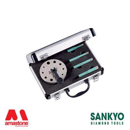 kit 4 pezzi foretti st-dc (attacco esagonale) per avvitatori e trapani – sankyo