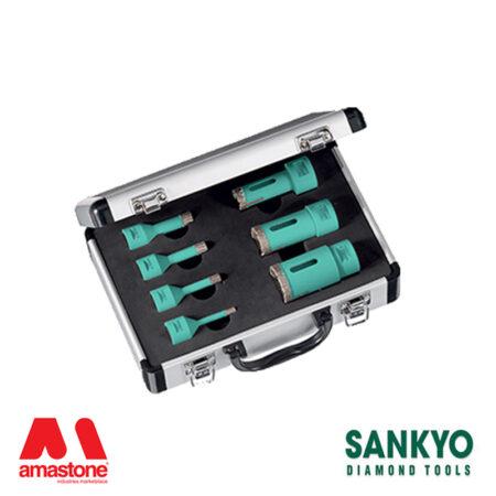 Kit valigetta foretti ST-DA (attacco M14) per smerigliatrice e trapano - Sankyo
