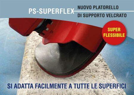 Platorello flessibile velcrato con foro centrale – Sifa