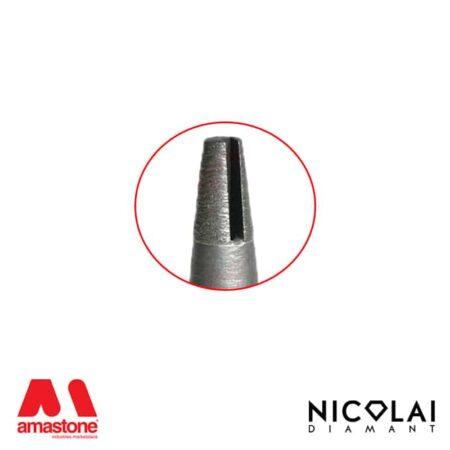 Fresa conica continua per granito – Nicolai