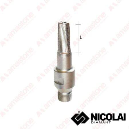 Fresa conica per granito per macchine CNC Nicolai - amastone.it