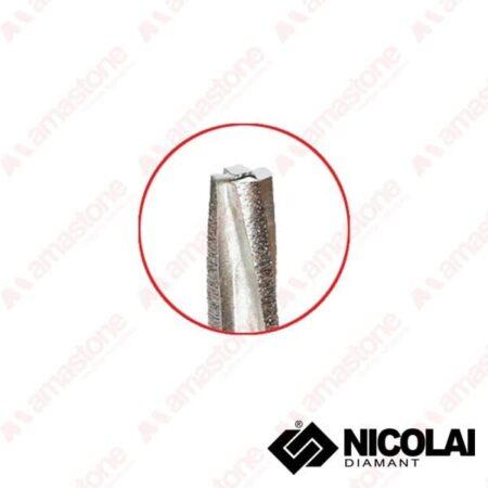 Fresa conica segmentata Granito CNC
