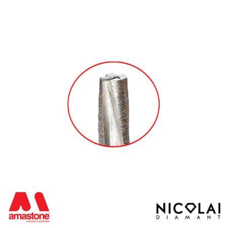 Fresa conica segmentata per granito – Nicolai