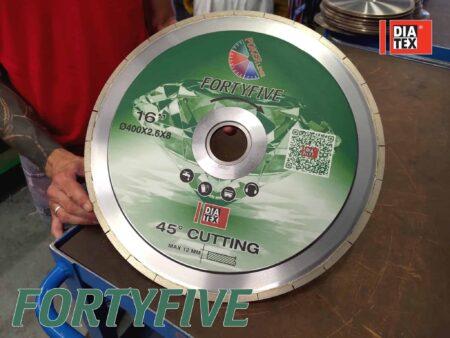 Disco Lastre Ceramiche Fortyfive 45 Amastone