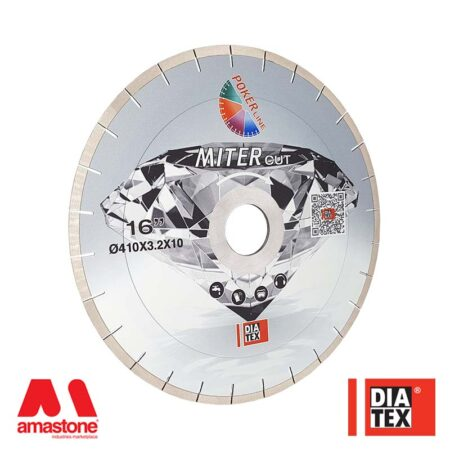 "Disco Dekton / Laminam / Neolith 45° ""MITERcut"" (20mm) - Diatex"