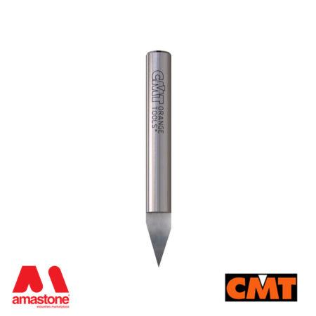 Fresa laser point 30° per lettere CNC legno – CMT