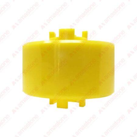 Rullo in plastica per rulliere 100x30x65 mm