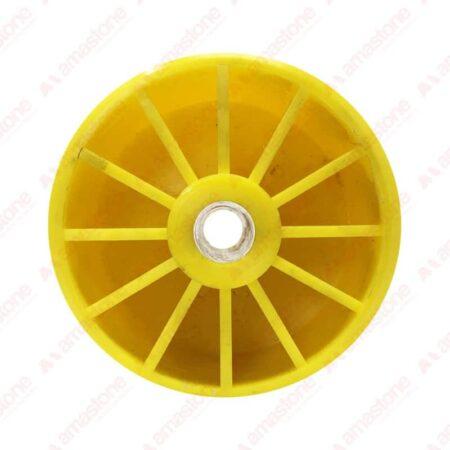 Rullo in plastica per rulliere 120x20x120 mm