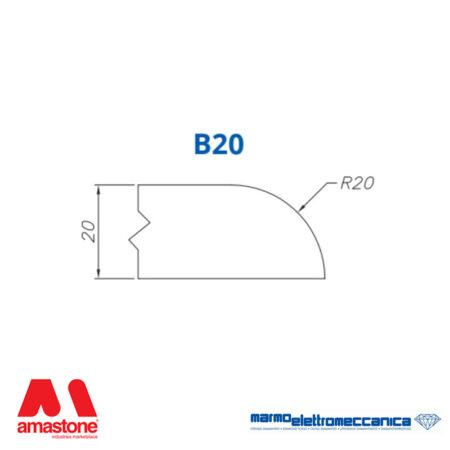 Mole sagomate Linea IW Profilo B20 - MEM